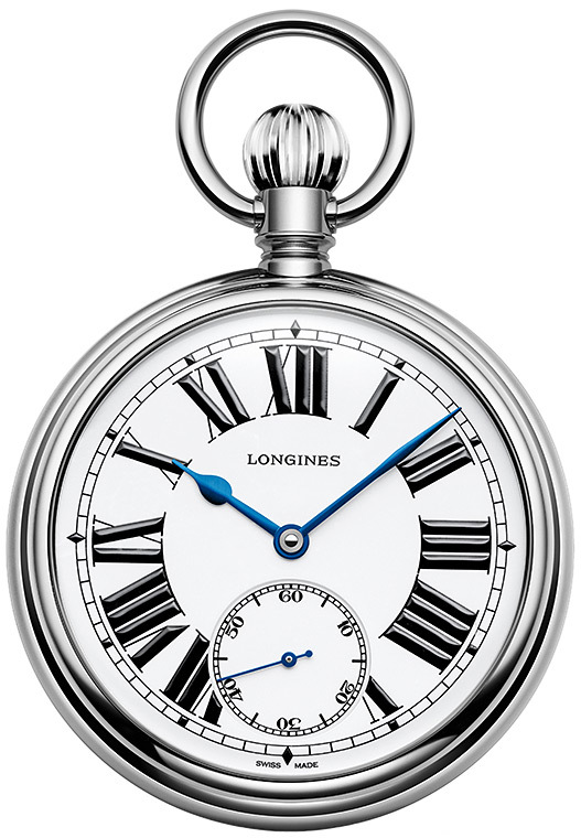 The Longines Rail Road Pocket Watch