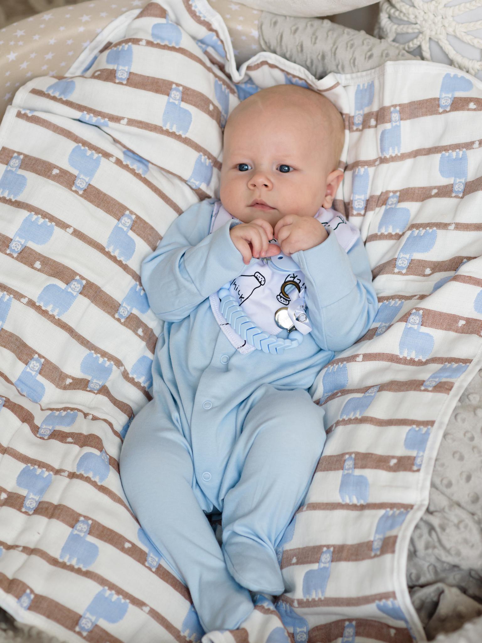 Miyoumi Beloved держатель для пустышки Baby blue