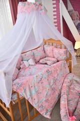Комплект постельного белья Облачко Розовый