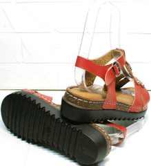 Молодежные сандали босоножки с толстой подошвой Rifellini Rovigo 375-1161 Rad.