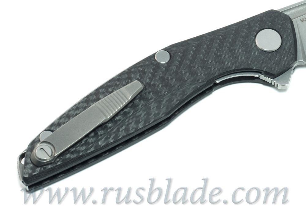 Shirogorov 111 M390 CF 3D groove MRBS