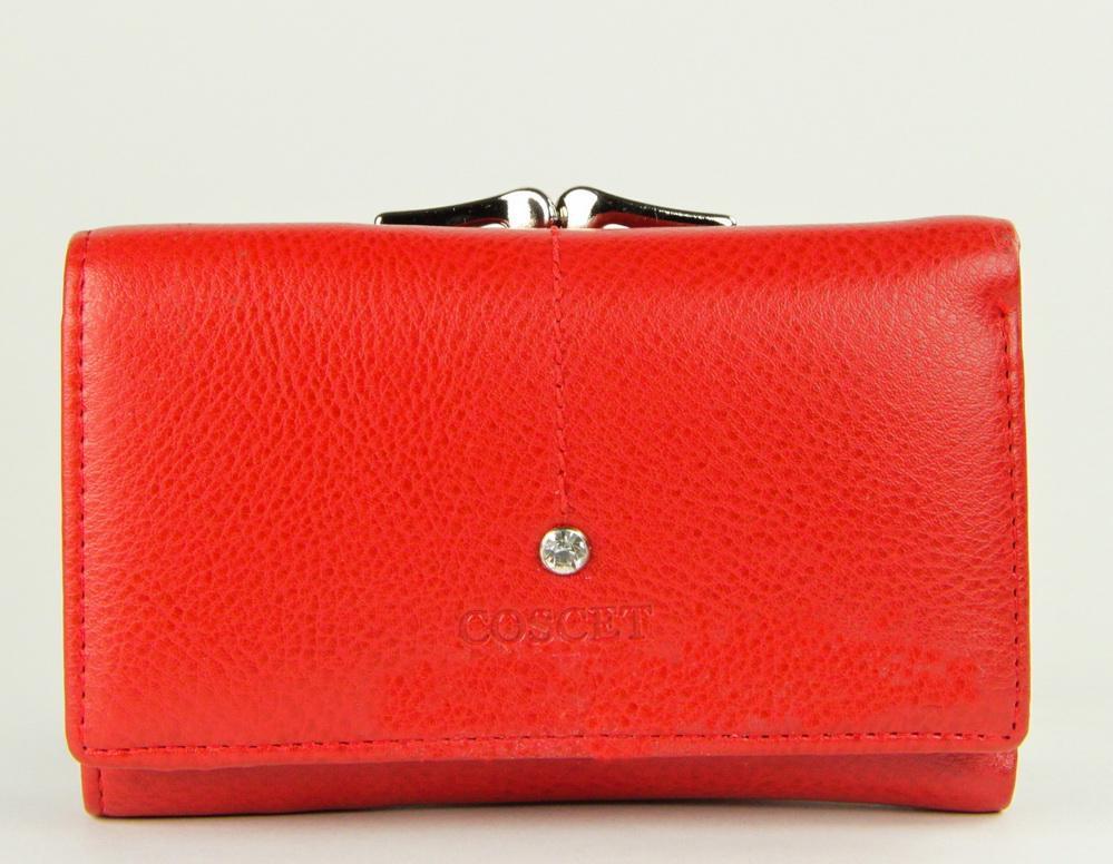 Небольшой кошелёк портмоне женский Coscet иск.кожа CS404-02B