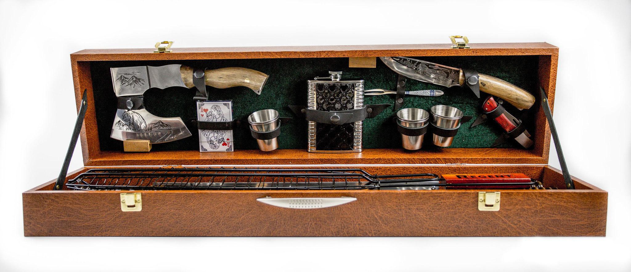 Шашлычный набор Царский №3, Кизляр СТО шашлычный набор царский 3 кизляр