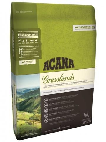 Acana Regionals Grasslands Dog корм беззерновой для собак и щенков (ягненок) 6кг