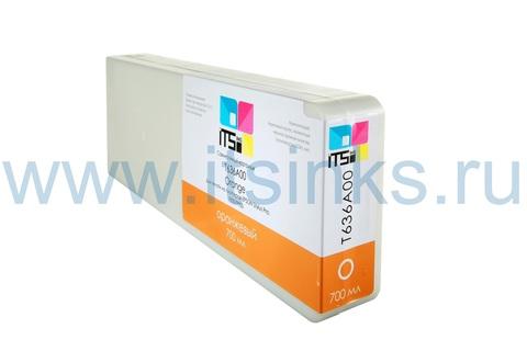 Картридж для Epson 7900/9900 C13T636A00 Orange 700 мл