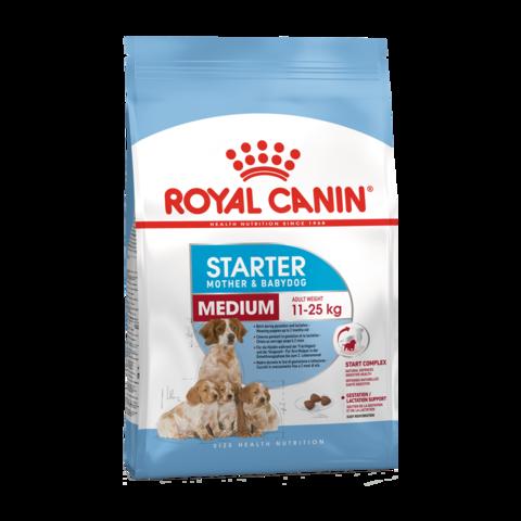 Royal Canin MEDIUM STARTER MOTHER & BABYDOG Сухой корм для щенков средних пород, беременных и кормящих сук