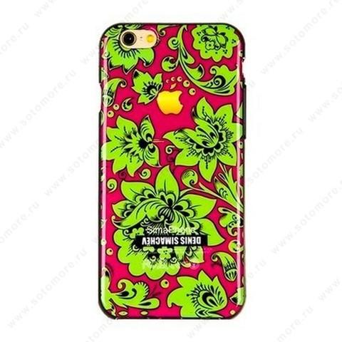 Накладка Denis Simachev силиконовый для Apple iPhone 6s Plus/ 6 Plus вид 28
