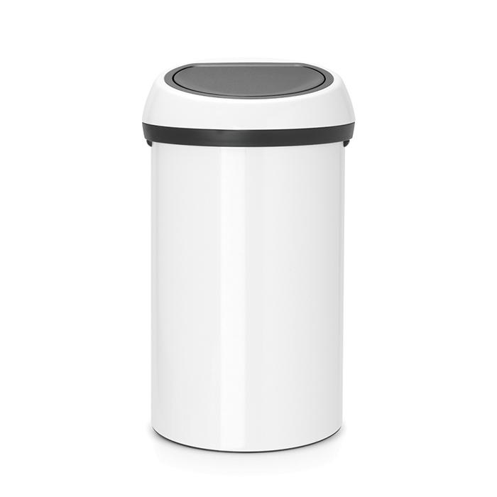 Мусорный бак Touch Bin (60 л), Белый, арт. 108686 - фото 1