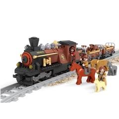 Конструктор серия Поезд Грузовой поезд