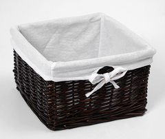 Плетеная корзина для ванной комнаты WasserKRAFT Alme WB-150-M