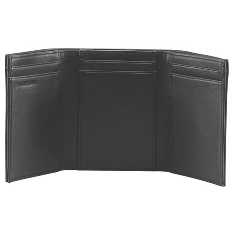 Портмоне Victorinox Altius 3.0 Athens, чёрное, натуральная кожа наппа, 9x3x10 см