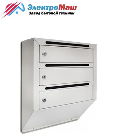 Ящик почтовый (3-секционный)