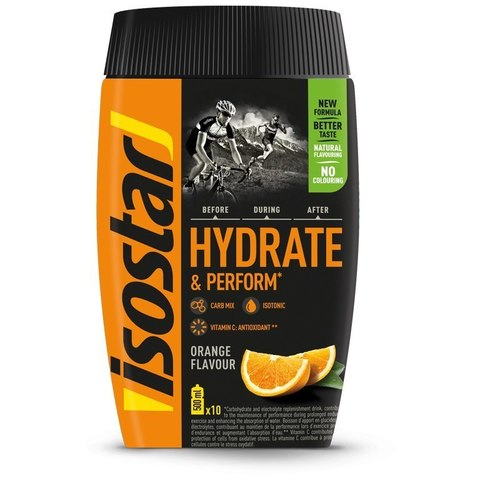 Изотоник Isostar Hydrate Perform 400г апельсин