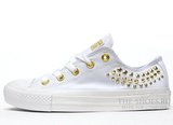 Кеды Converse All Stars Chuck Taylor Low White Gold