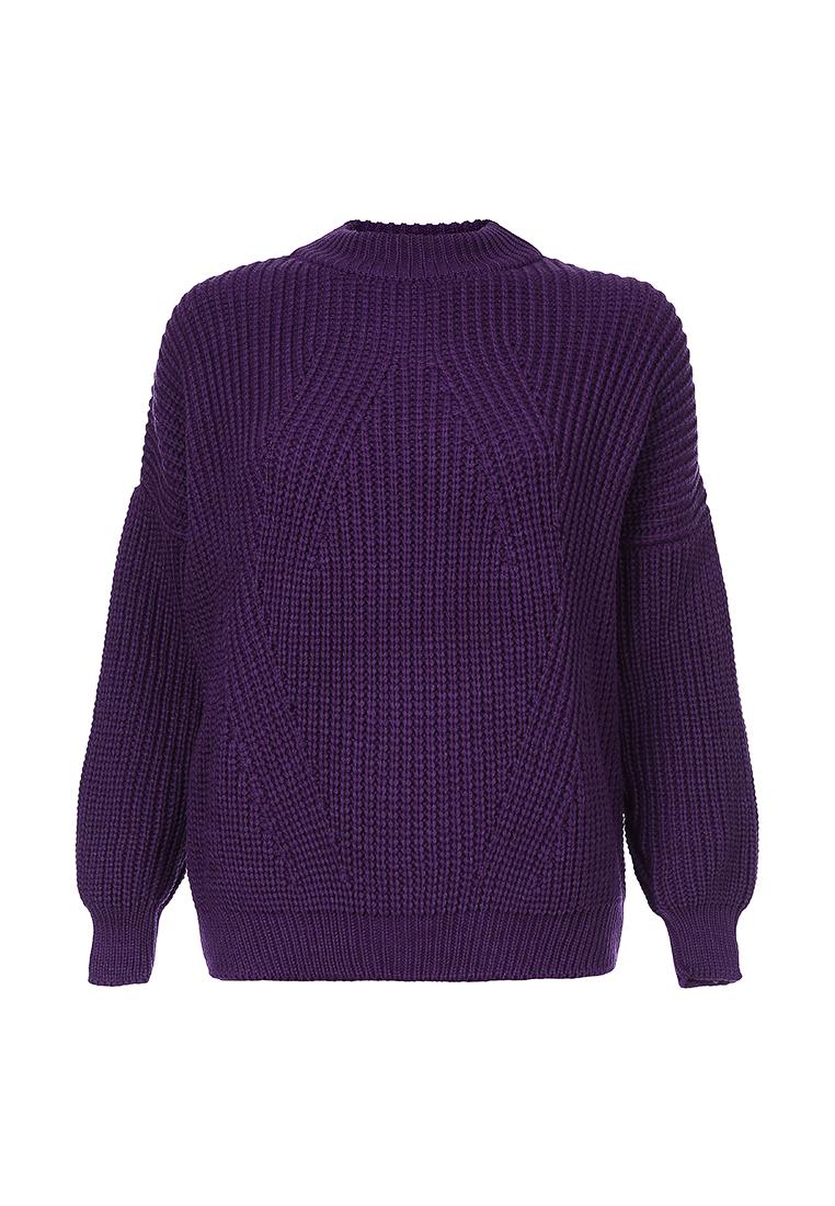 Свитер объемной вязки Фиолетовый (FW0341)