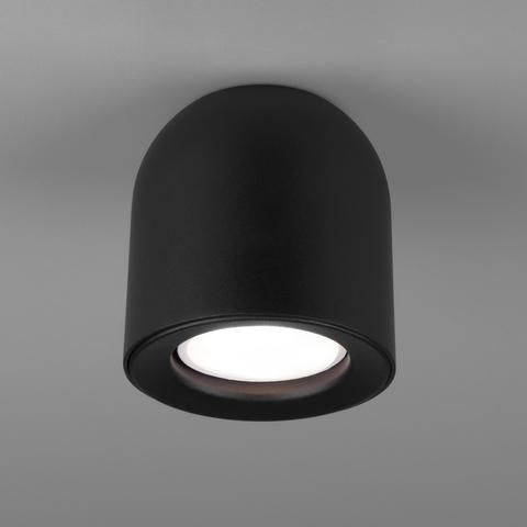 Светильник накладной черный DLN116 GU10