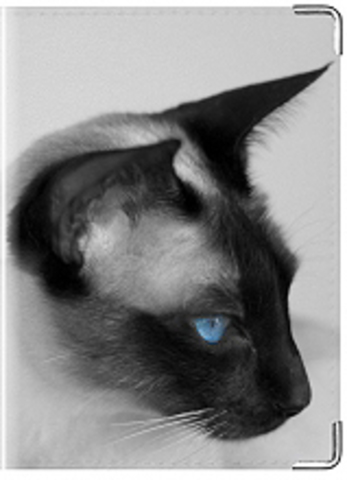 """Обложка для ветеринарного паспорта """"Сиам"""""""