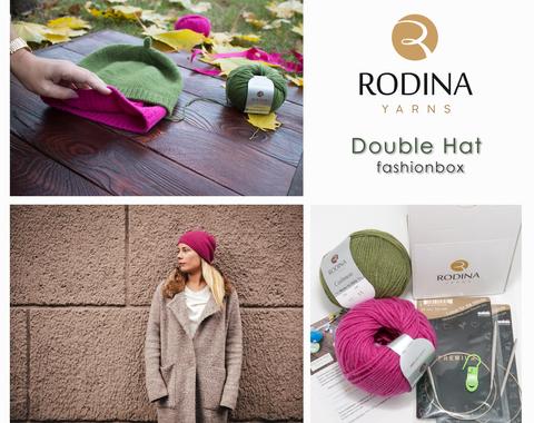 DOUBLE HAT Fashionbox by Rodina Yarns