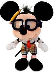 Disney Nerd Mickey Mouse Plush