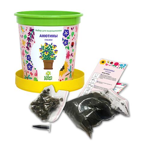 Набор для выращивания в горшочках Happy Plant Анютины глазки