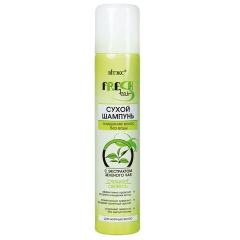 Витэкс Fresh Hair Сухой шампунь c экстрактом зеленого чая Очищение и свежесть 200 мл