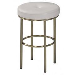Столик туалетный ALBERT (столик/зеркало + пуф) — античная медь