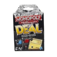 Hasbro Игра монополия Миллионер Сделка, карточная игра (98840H)