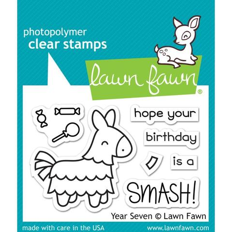 Набор штампов Lawn Fawn Clear Stamps 5х8см - Year Seven
