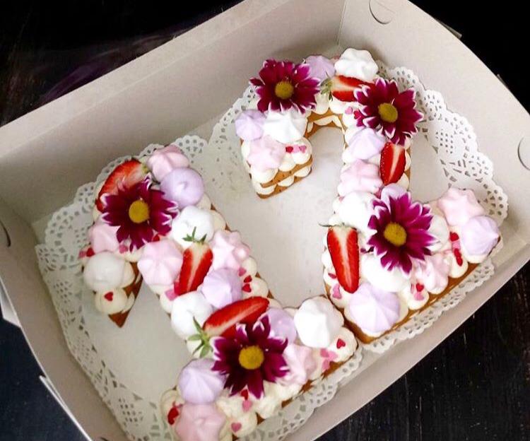 торт цифры Алматы