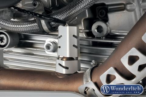 Защита кислородного датчика BMW R1200GS LC/GSA LC/R LC/RS LC правый Серебро