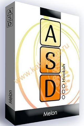 Безникотиновая смесь ASD Hookah - Дыня