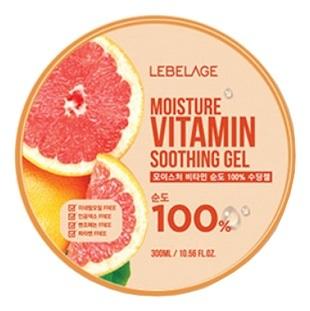 Гель с витаминами увлажняющий успокаивающий Lebelage Moisture Vitamin Soothing Gel 300мл