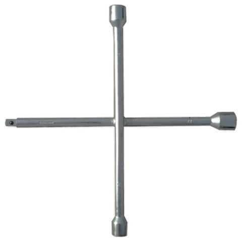 Ключ-крест баллонный, 17 х 19 х 21 мм, под квадрат 1/2, толщина 16 мм Matrix