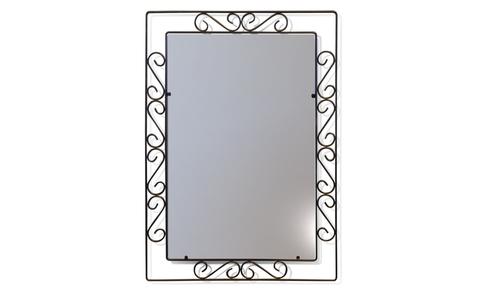 Зеркало настенное Грация 628 черный