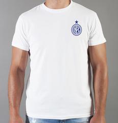 Футболка с принтом FC Internazionale (ФК Интернационале) белая 0013