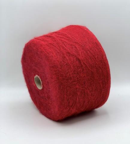 Бобинная пряжа Cofil (пр.Италия), art-Sciarada , 900м/100гр, 14% мохер, 14% меринос, 30% полиамид, 42% акрил, цвет-Красный+черный, арт.9053