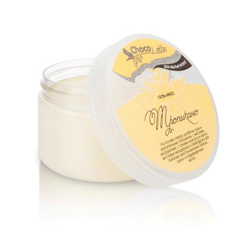 Гель-крем для мытья волос МУСС ТРОПИКАНО с соком ананаса и манго 280 млTM ChocoLatte