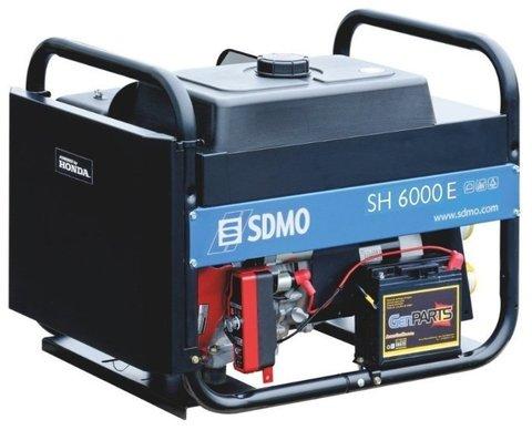 Кожух для бензиновой электростанции SDMO SH6000E