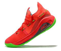 Under Armour Curry 6 'Red/Green'