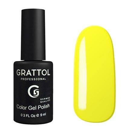 Classic Collection Grattol, Гель-лак 034, Yellow, 9 мл Grattol__Гель-лак_034__Yellow.jpg