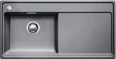 Мойка Blanco Zenar XL 6S-F (чаша слева) Алюметаллик