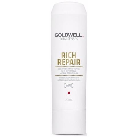 Кондиционер восстанавливающий против ломкости волос, Goldwell Dualsenses Rich Repair, 200 мл.