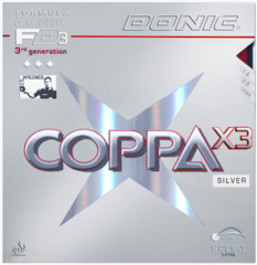 Накладка DONIC Coppa X3 Silver