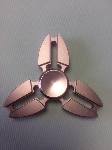Спиннер металлический сюррикен розового цвета srckn_001_rose