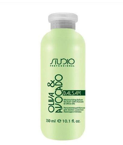 Kapous, Бальзам для волос с маслами авокадо и оливы, 350 мл