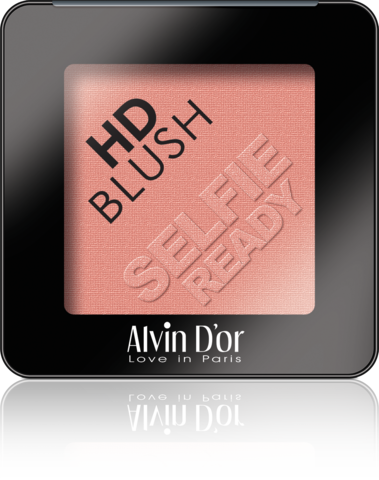 Alvin D`or B-2 Румяна пудровые HD Blush selfie ready 6гр (тон 01)