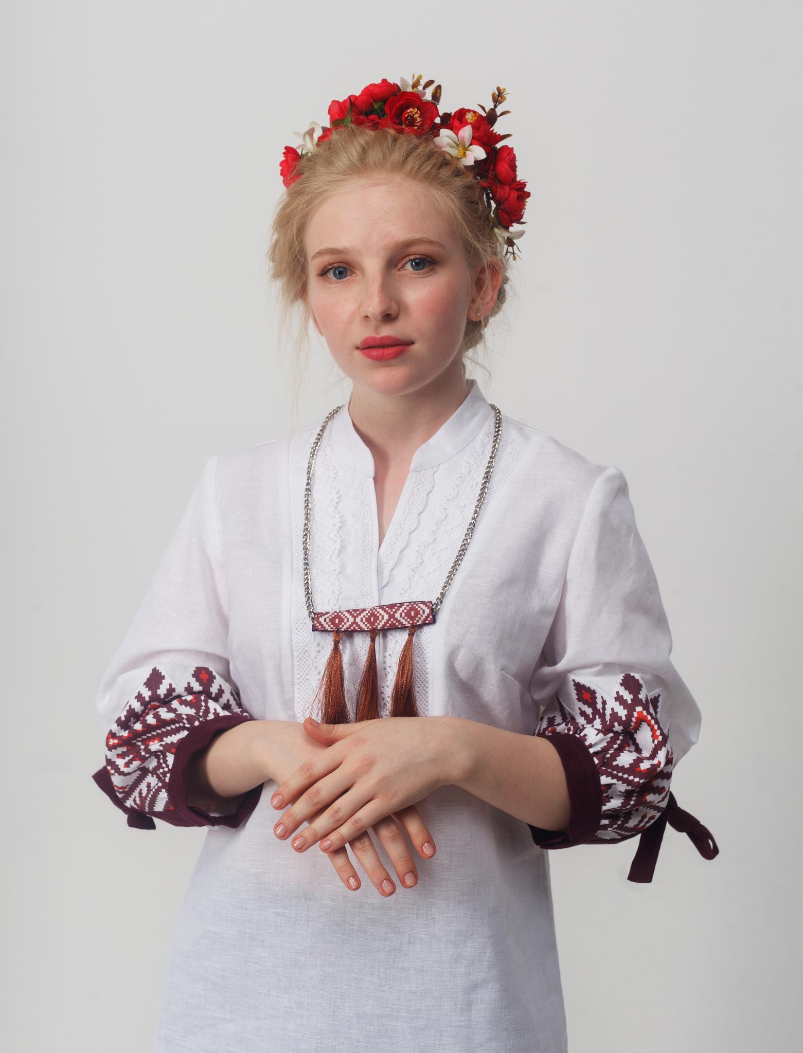 Блуза Родные узоры 02