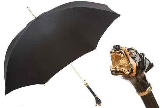 Зонт-трость Pasotti  Rottweiler Umbrella, Италия (арт.479 6768-1 K54)