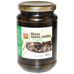 Оливки черные без косточек Bell France 160 г