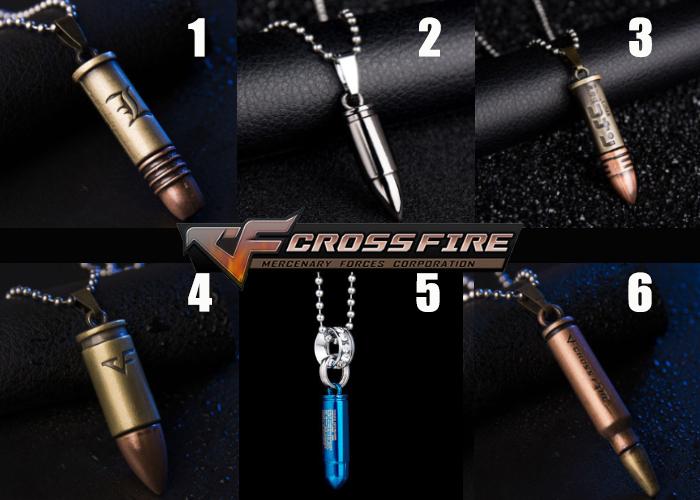 Cross Fire Pendant Necklace v2
